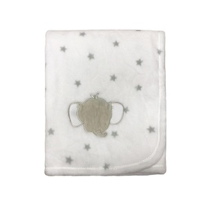 KOO Baby Elephant Fleece Blanket