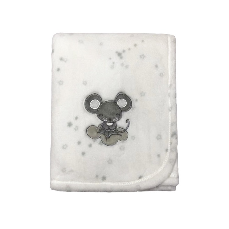 KOO Baby Mouse Fleece Blanket