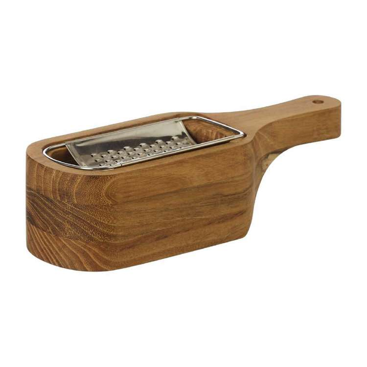 Southwest Teak Cheese Grater Box