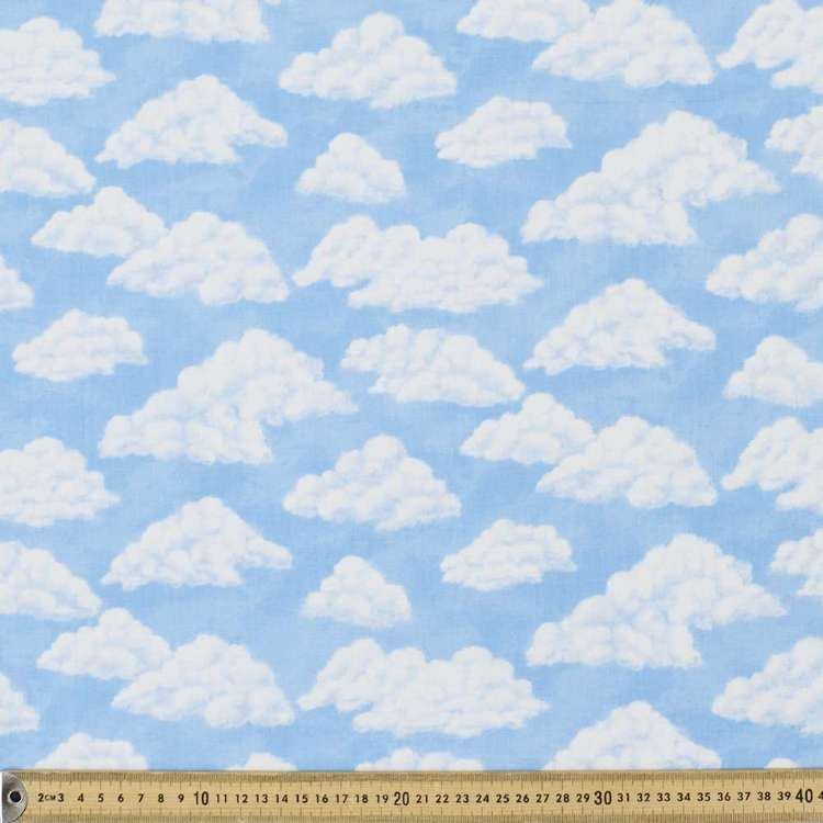 Cloud Allover Cotton Fabric