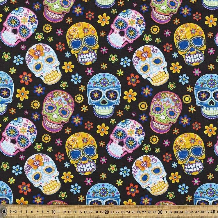 Calavera Cotton Fabric