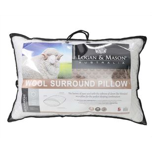 Logan & Mason Wool Surround Pillow