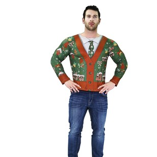 Jolly and Joy Ugly Sweater Cardigan