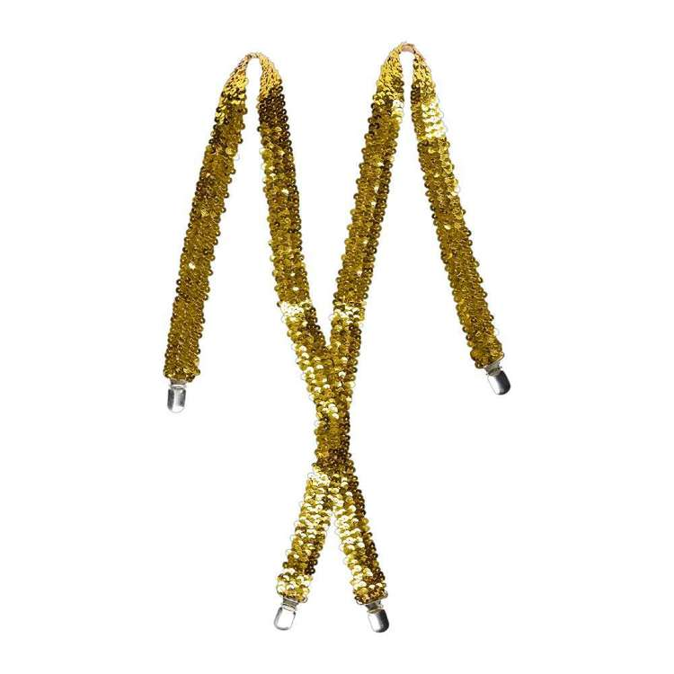 Party Creator Sequin Suspenders