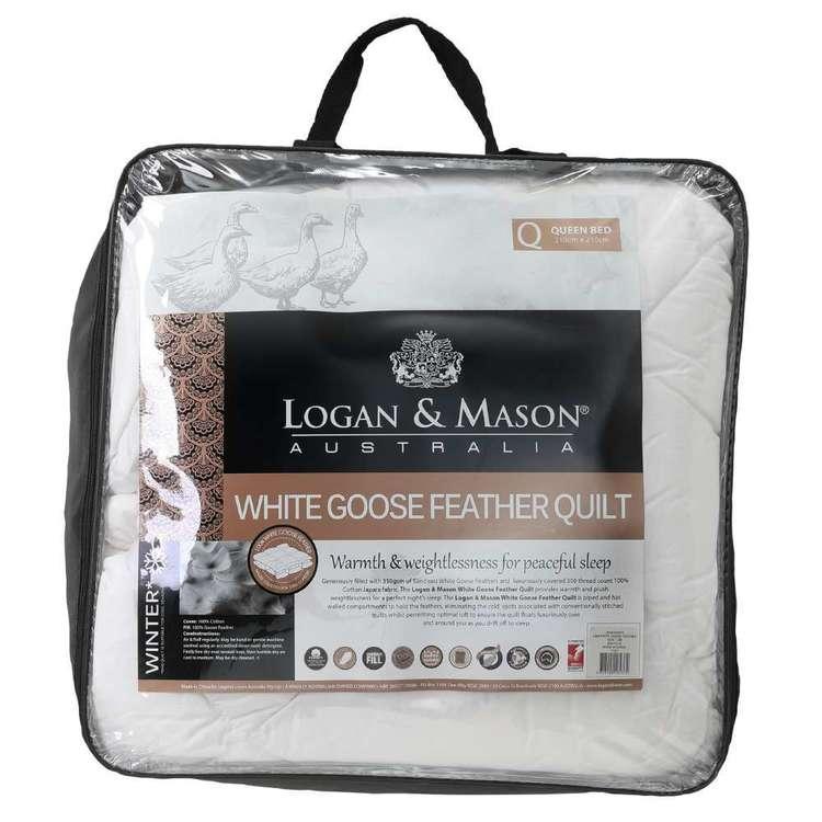Logan & Mason Goose Feather Quilt