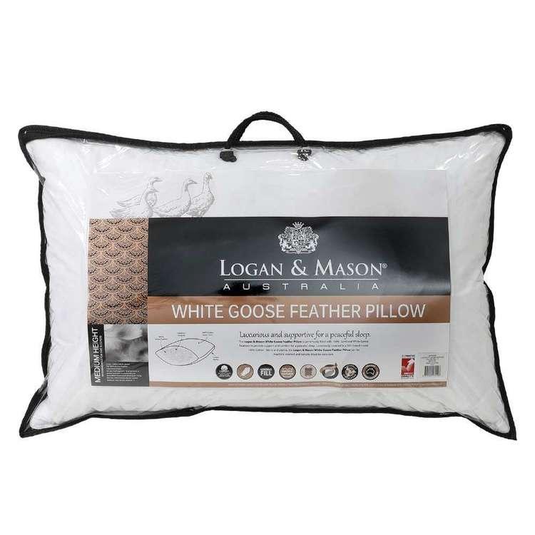 Logan & Mason Goose Feather Pillow