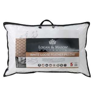 Logan & Mason Goose Feather Pillow