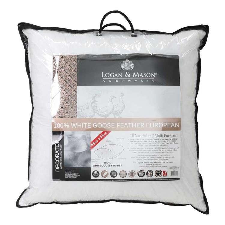 Logan & Mason Goose Feather European Pillow