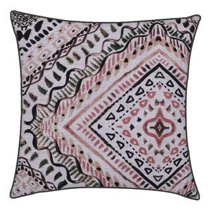Ombre Home Desert Rose Lillibet Geo Cushion