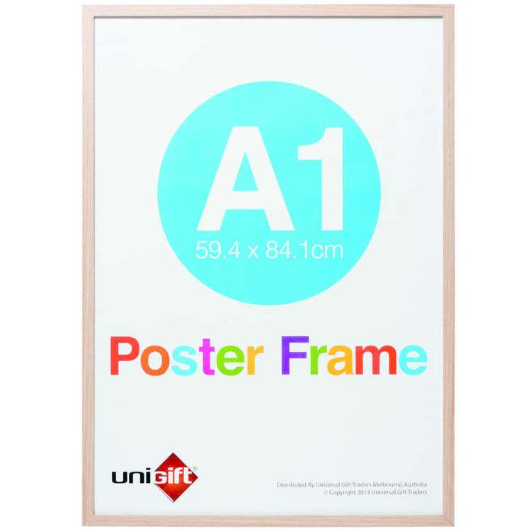 Unigift Extended Frames Natural Poster Frame