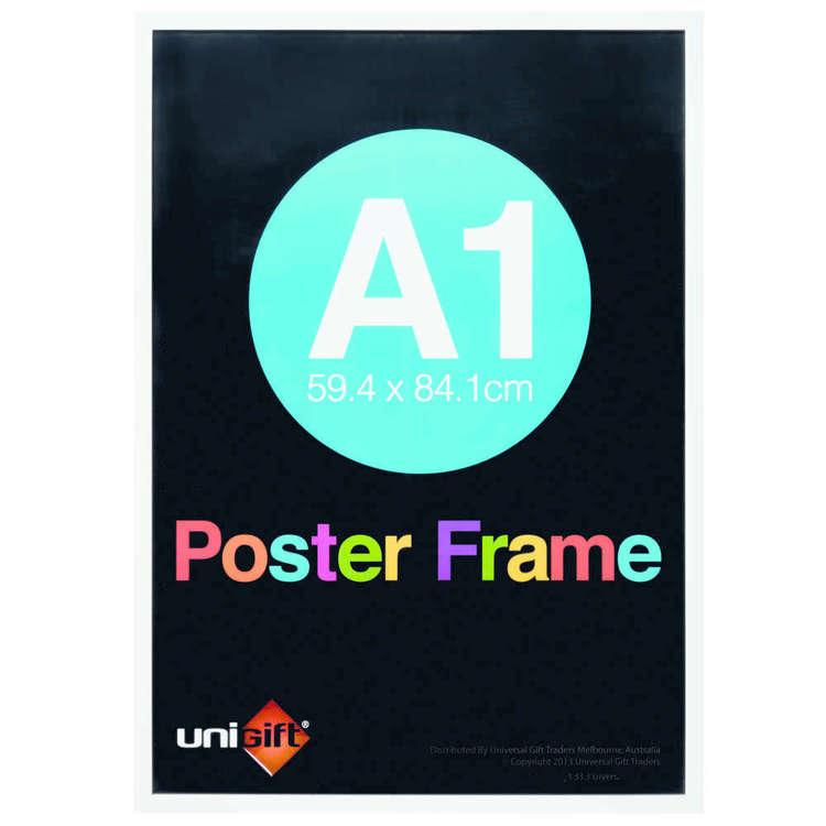 Unigift Extended Frames White Poster Frame