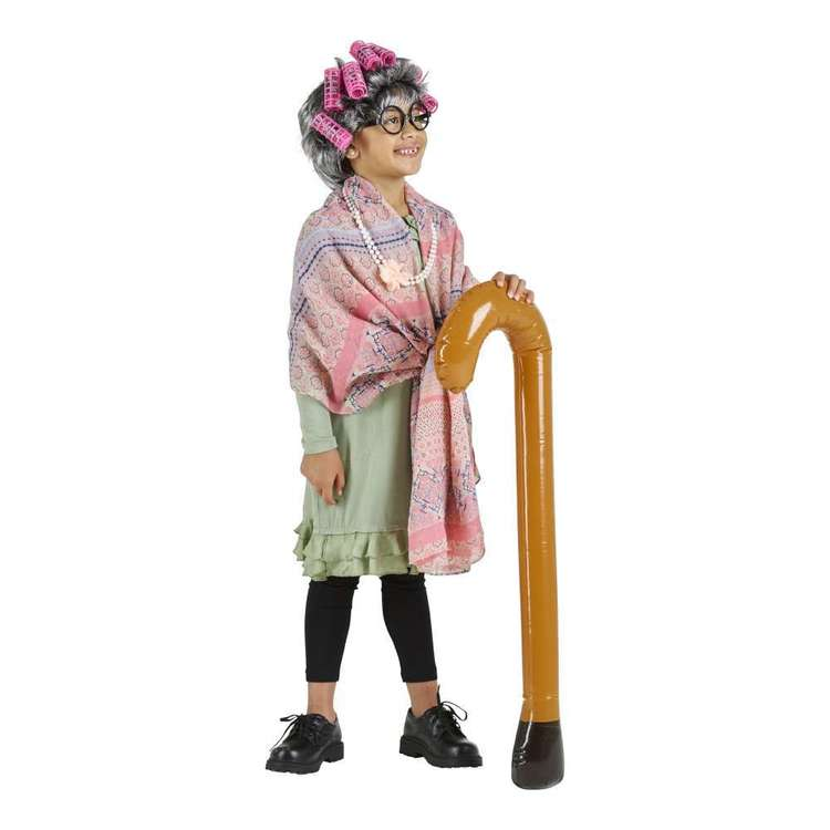 Party Creator Old Lady Set Kids Costume