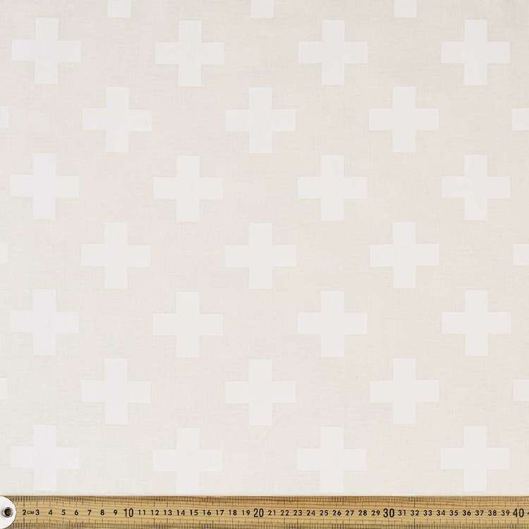Quilt Backing Cross Fabric