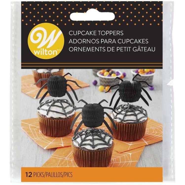Wilton Honeycomb Spider Cupcake Topper
