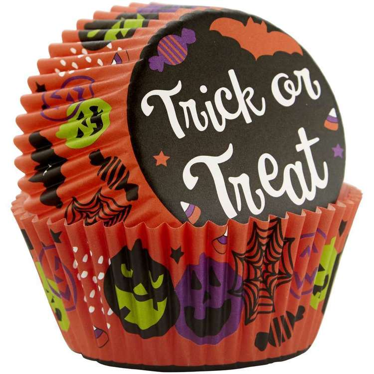 Wilton Trick Or Treat Baking Cup