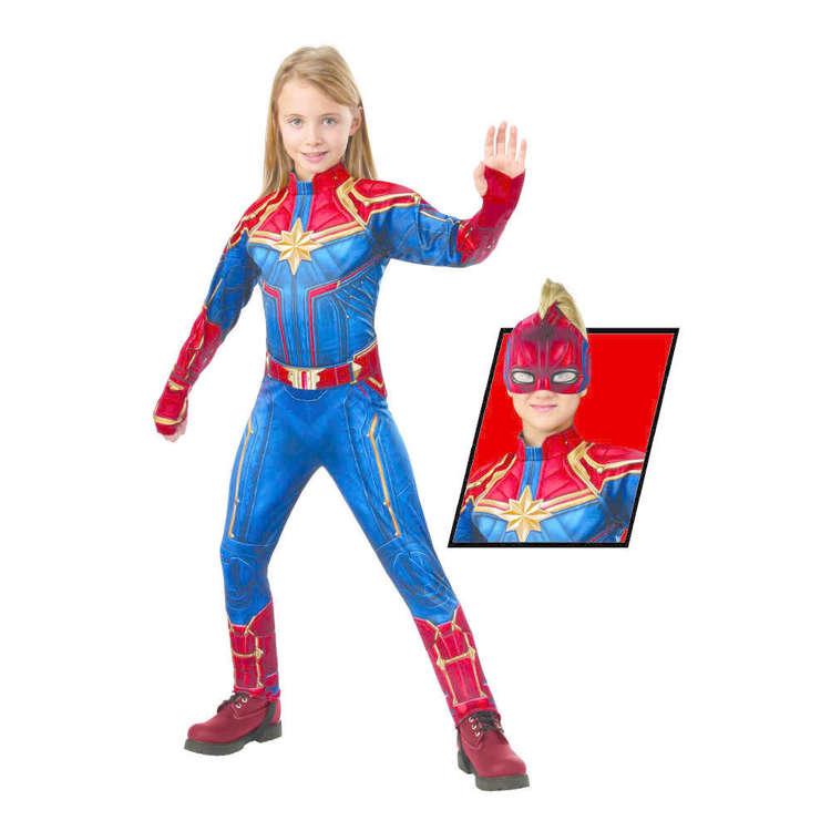 Marvel Captain Marvel Deluxe Hero Suit