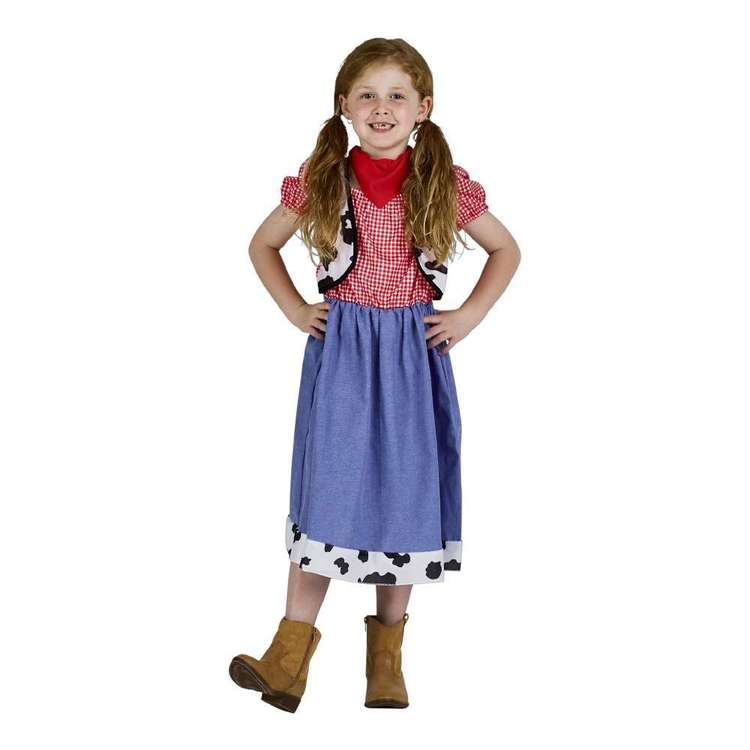 Party Creator Cowgirl Kids Costume