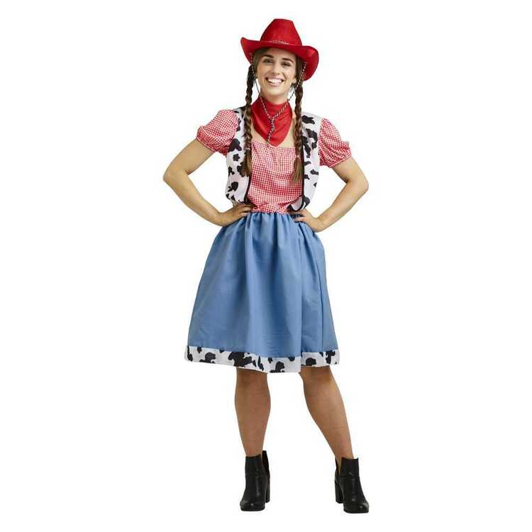 Party Creator Cowgirl Adult Costume Multicoloured Adult