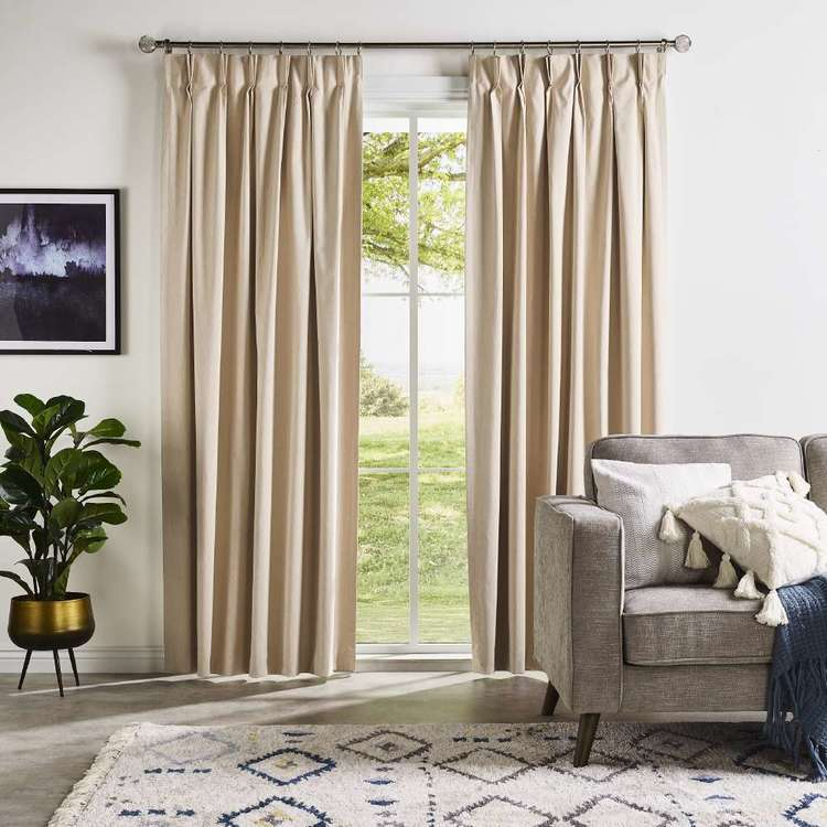Finn Pinch Pleat Curtains