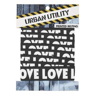 Urban Utility Printed Belting Love # 2