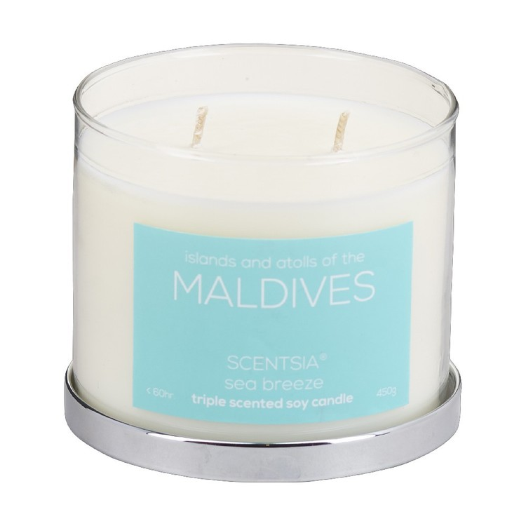 Scentsia Maldives 450 g Soy Candle