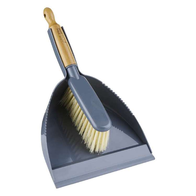 White Magic Eco Basics Dustpan Brush