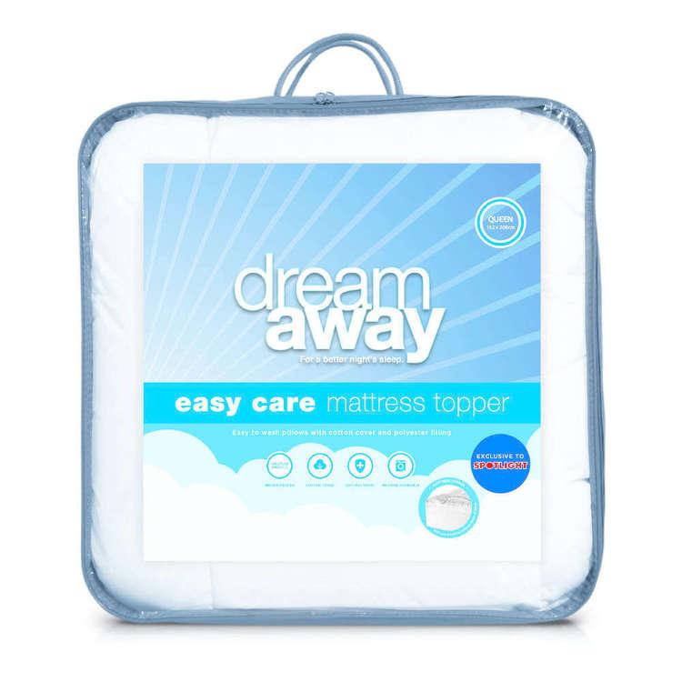 Dream Away Easy Care Mattress Topper