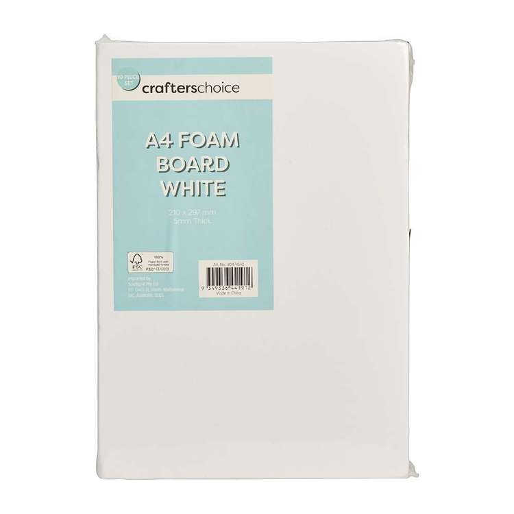 Crafters Choice Foam Board 10 Pack