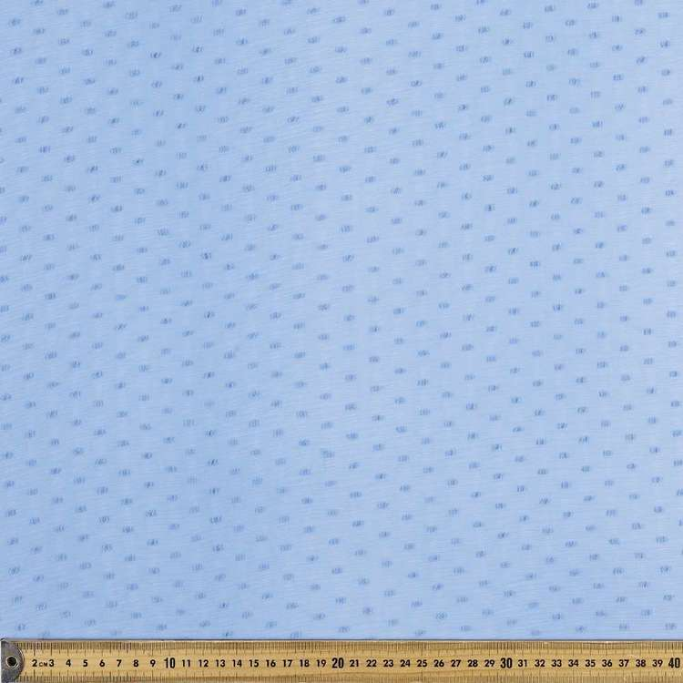 Crinkle Dot Printed Chiffon Fabric