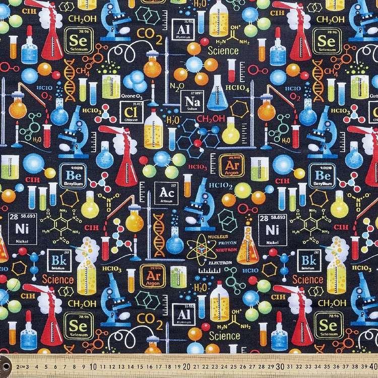 Science Lab Cotton Fabric