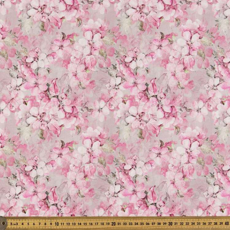 Blossom Digital Printed Cotton Linen Fabric