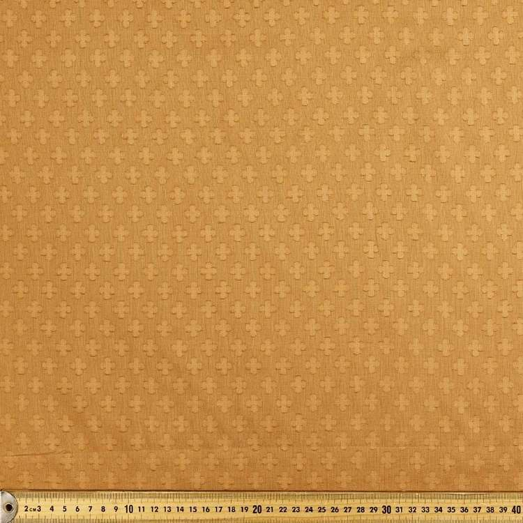 Jacquard Cut Cotton Embroidered Fabric