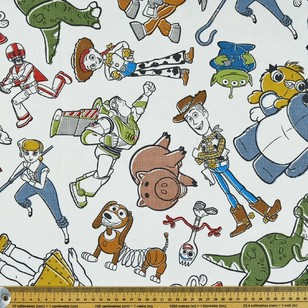 Toy Story Sketch Allover 150cm Wide Curtain Fabric
