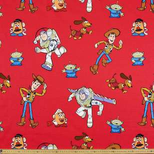 Toy Story Characters Curtain Fabric