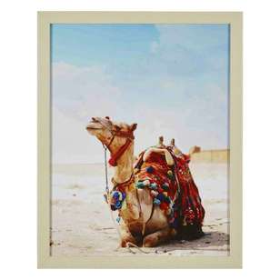 Ombre Home Desert Rose Camel Framed Portrait