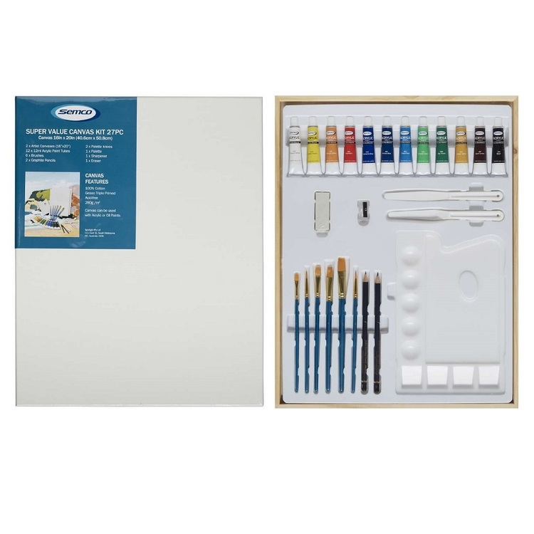 Semco Super Value Canvas Kit