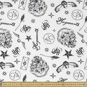 Harry Potter Motifs Kids Curtain Fabric