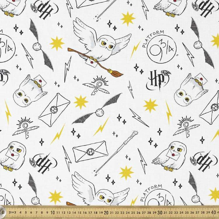 Harry Potter Hedwig Kids Curtain Fabric