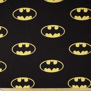 Batman 80th Birthday Logo Curtain Fabric