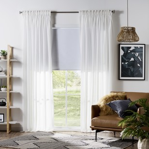 KOO Franky Sheer Pencil Pleat Curtain