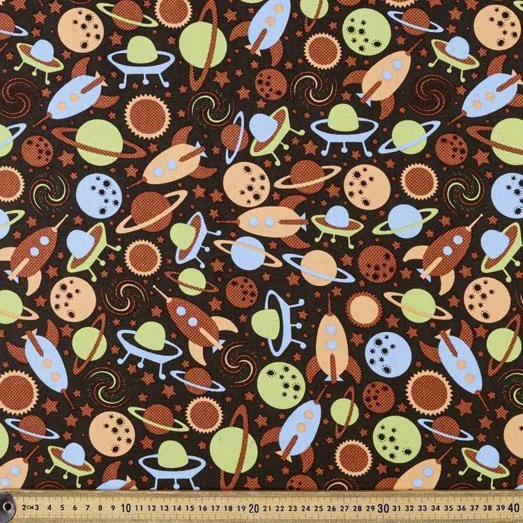 Kids Space Organic Cotton Fabric