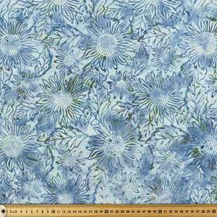 Indonesian Batik Sunflower Fabric