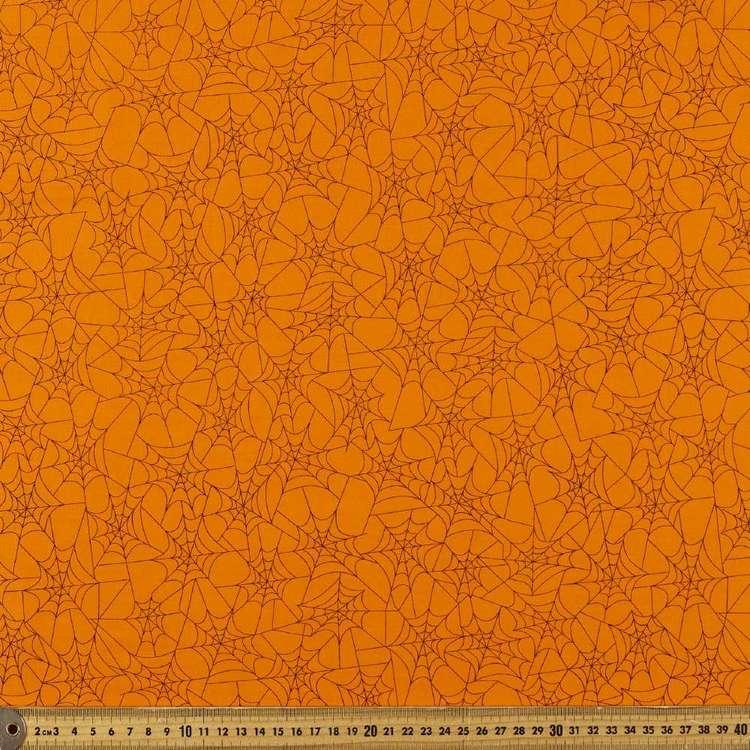 Halloween Web Cotton Fabric