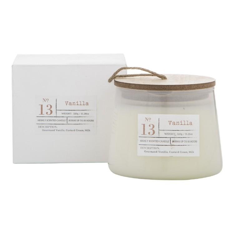 Amalfi Vanilla Scented Candle Jar