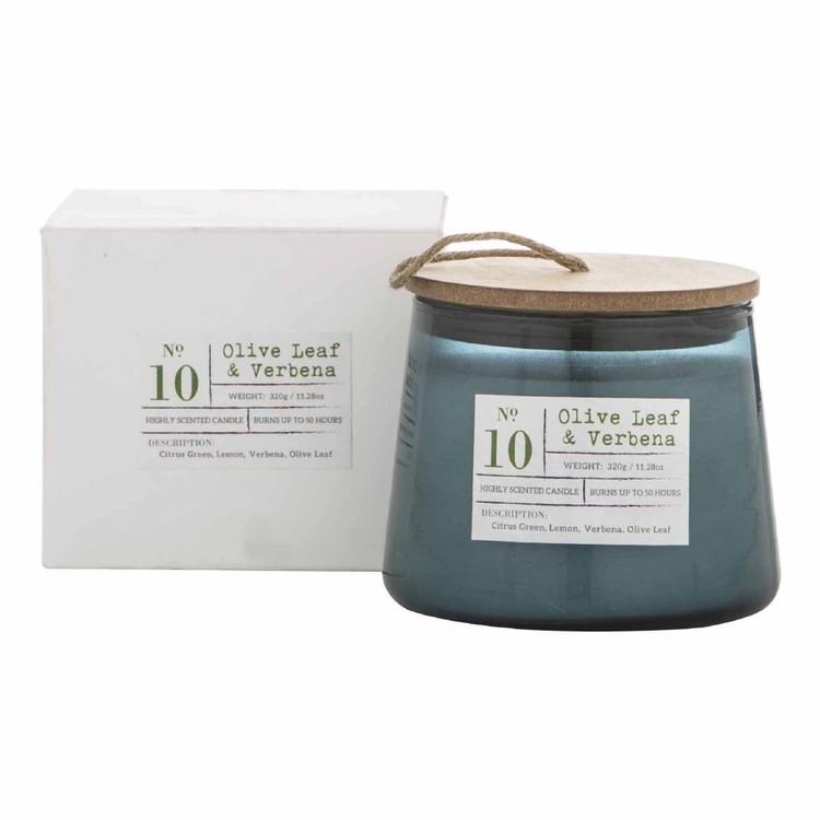 Amalfi Olive Leaf & Verbena Scented Candle Jar