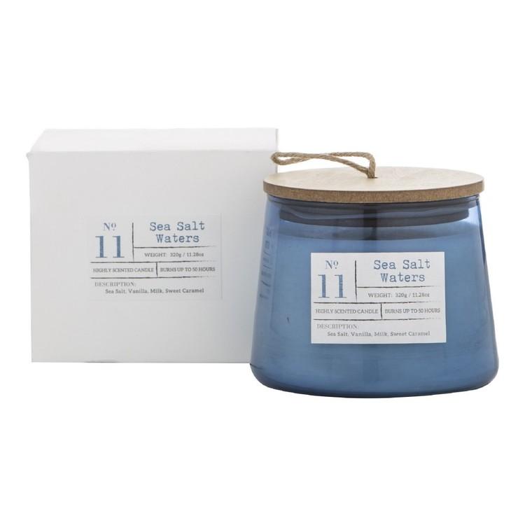 Amalfi Sea Salt Waters Scented Candle Jar