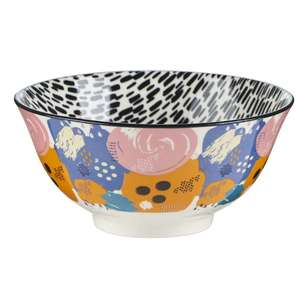 Cooper & Co Floral Swirl Large Ceramic Bowl