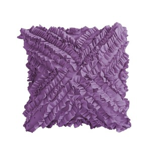 KOO Kids Velvet Ruffled Cushion