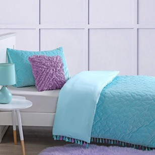 KOO Kids Velvet Butterfly Quilt Cover Set