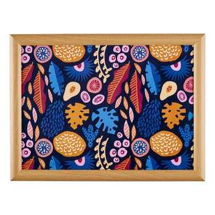 Cooper & Co Global Artist Abstract Flora Lap Tray